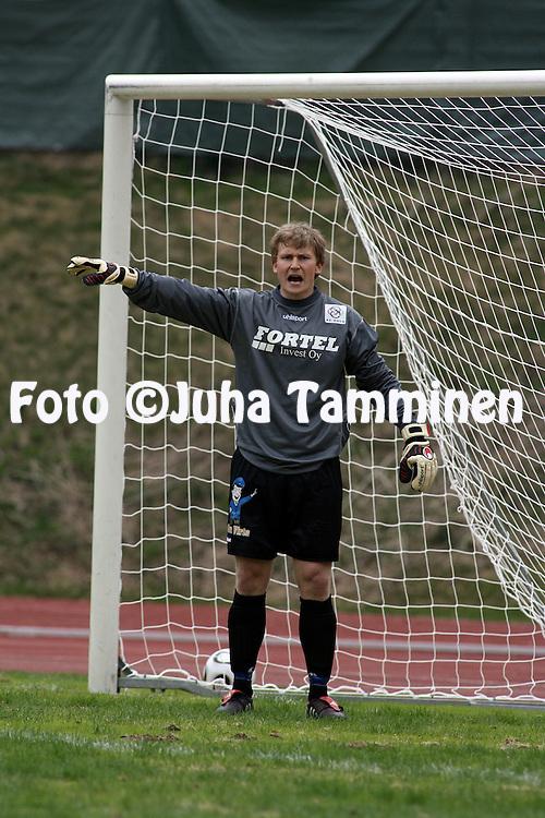 13.05.2006, Vuosaari, Helsinki, Finland..Ykk?nen 2006 .FC Viikingit - AC Oulu.Jani Luukkonen - AC Oulu.©Juha Tamminen.....ARK:k