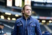 Milton Keynes Dons manager Robbie Neilson during the EFL Sky Bet League 1 match between Milton Keynes Dons and Shrewsbury Town at stadium:mk, Milton Keynes, England on 25 February 2017. Photo by Dennis Goodwin.