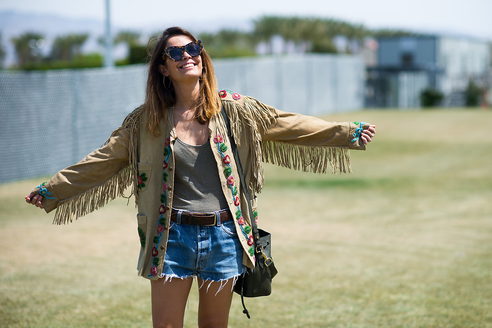 Sarah Edad at Coachella Day 1 2015