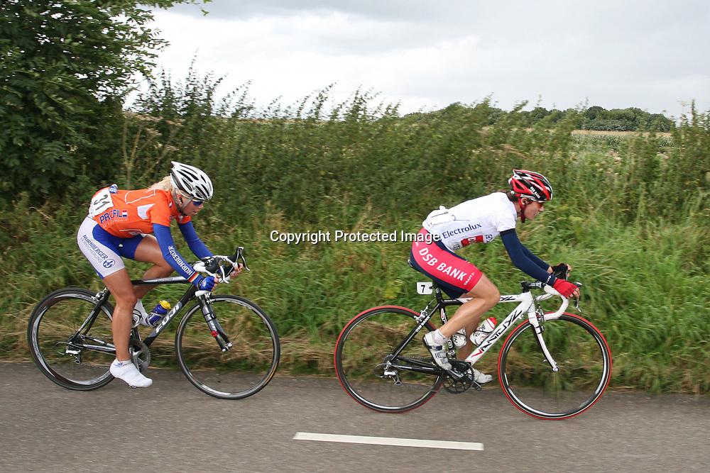 Ladiestour 2008 Limburg <br />Marianne Vos, Charlotte Becker