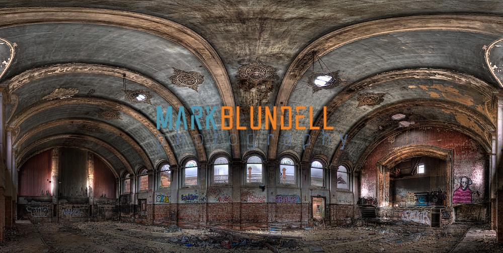 Hellingly Mental Asylum Main Hall