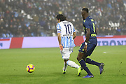 Foto LaPresse/Filippo Rubin<br /> 26/12/2018 Ferrara (Italia)<br /> Sport Calcio<br /> Spal - Udinese - Campionato di calcio Serie A 2018/2019 - Stadio &quot;Paolo Mazza&quot;<br /> Nella foto: SERGIO FLOCCARI (SPAL)<br /> <br /> Photo LaPresse/Filippo Rubin<br /> December 26, 2018 Ferrara (Italy)<br /> Sport Soccer<br /> Spal vs Udinese - Italian Football Championship League A 2018/2019 - &quot;Paolo Mazza&quot; Stadium <br /> In the pic: SERGIO FLOCCARI (SPAL)
