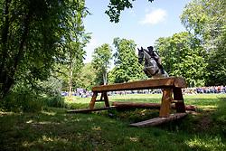 PRITSCHAU Sophie (GER), Careless Cricket<br /> Wiesbaden - Longines Pfingstturnier 2019<br /> Veronika Dyckerhoff Gedächtnis-Preis <br /> Wertungsprüfung für den U25-Förderpreis Vielseitigkeitsreiten 2019<br /> CCI4*-S <br /> Teilprüfung Gelände<br /> 08. Juni 2019<br /> © www.sportfotos-lafrentz.de/Stefan Lafrentz