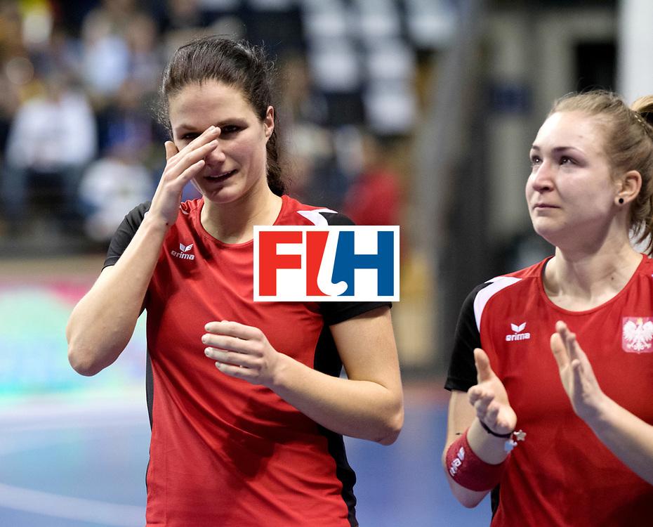 BERLIN - Indoor Hockey World Cup<br /> Quarterfinal 3: Germany - Poland<br /> foto: <br /> WORLDSPORTPICS COPYRIGHT FRANK UIJLENBROEK