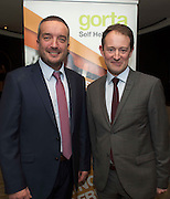 Repro free: At the Gorta Self Help Africa annual Ball at hotel Meyrick, Galway were Gorta Self help Africa CEO Ray Jordan and Minister for Foreign aid Sean Sherlock TD. Photo:Andrew Downes