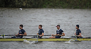 Hammersmith, Greater Game, London, UK. Isis II, Elite 4+, competing at the 2015 Fours Head of the River Race, River Thames [ opposite Chiswick Eyot]  Saturday  07/11/2015 <br /> <br /> [Mandatory Credit: Peter SPURRIER: Intersport Images]