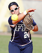 FIU Women's Softball in a little fall ball action taking on Miami Dade at FIU's softball stadium..game one in which FIU won.