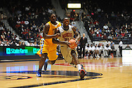 "Ole Miss' Murphy Holloway (31) is fouled by McNeese State's Pete Kpan (54) at the C.M. ""Tad"" Smith Coliseum in Oxford, Miss. on Tuesday, November 20, 2012. .."