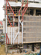 16 OCTOBER 2012 - BANGKOK, THAILAND:  A residential condominium project on Th Phaya Thai near the intersection with Phetchaburi Rd. in Bangkok. The global economic slowdown had little visible effect in Bangkok. Construction projects dot the city of 12 million and development continues unabated.   PHOTO BY JACK KURTZ