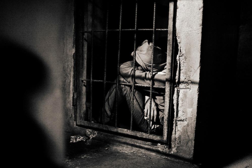 CELDAS DE PREVENCION EN LA POSTA POLICIAL DEL DISTRITO 15 DE BELEN DE TEGUCIGALPA