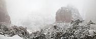 Big Bend, Winter, Zion Canyon, Zion National Park,