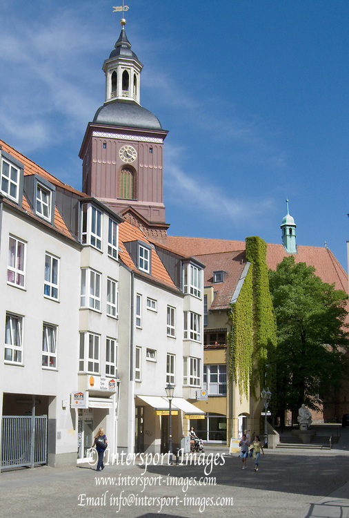 Berlin Spandau, GERMANY, General Views, Berlin Spandau, Shopping Centre and  Old Town. 27.04.2009.  [Mandatory Credit. Peter Spurrier/Intersport Images] Street Photos