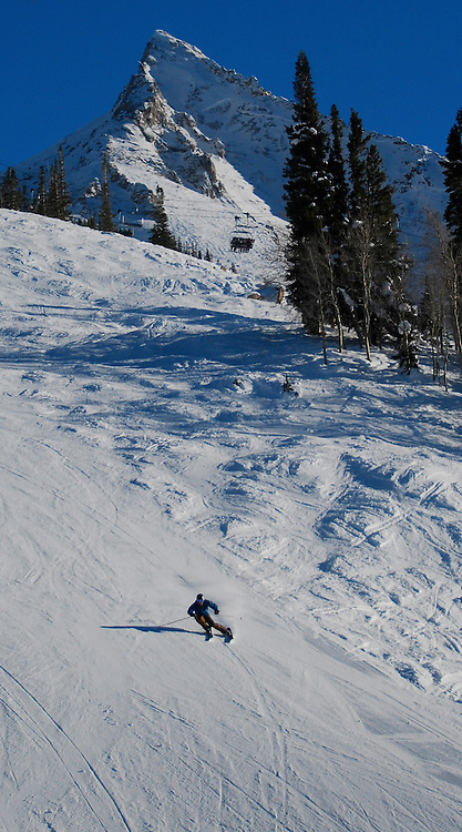 Skier: Martin Smith<br /> Location: Mt. Crested Butte