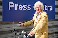 DEN HAAG - Columnist Guus Mater. Rabobank World Cup Hockey 2014 . COPYRIGHT KOEN SUYK
