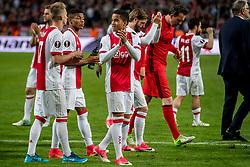 24-05-2017 SWE: Final Europa League AFC Ajax - Manchester United, Stockholm<br /> Finale Europa League tussen Ajax en Manchester United in het Friends Arena te Stockholm / Justin Kluivert #45 of Ajax