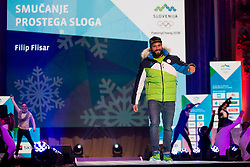 during the outfitting of the Slovenian Olympic Team for PyeongChang 2018, on January 29, 2018 in GH Union, Ljubljana, Slovenia. Photo by Urban Urbanc / Sportida