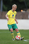 Zac Whitbread of Norwich in action during a pre season friendly at New Lodge Stadium, Billericay...Picture by Paul Chesterton/Focus Images Ltd.  07904 640267.4/8/11