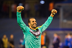 Eduardo Carvalho #24 of GNK Dinamo Zagreb after winning football match between GNK Dinamo Zagreb, CRO and Arsenal FC, ENG in Group F of Group Stage of UEFA Champions League 2015/16, on September 16, 2015 in Stadium Maksimir, Zagreb, Croatia. Photo by Ziga Zupan / Sportida