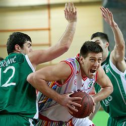 20110211: SLO, Basketball - Spar Cup, Quarterfinals, KK Geoplin Slovan vs KK Zlatorog