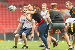 - Mandatory by-line: Ryan Hiscott/JMP - 24/05/2018 - RUGBY, GYMNASTICS, TENNIS, BASKETBALL, BADMINTON, CRICKET - Ashton Gate Stadium - Bristol, England - Celebration of Sport Week