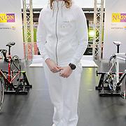 NLD/Amsterdam/20120306 - Presentatie olympisch team NUON - NOC-NSF Vattenfall, atletiekster Corine Nugter