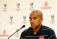 Photo: Richard Lane Photography. Emirates Cup Press Conference. 01/08/2008. Arsenal's Gael Clichy.