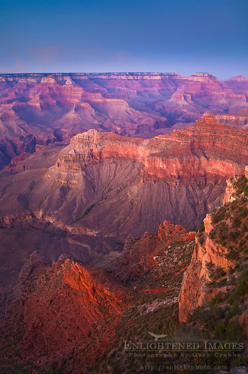 Sunset at Yavapai Point, South Rim, Grand Canyon National Park, Arizona