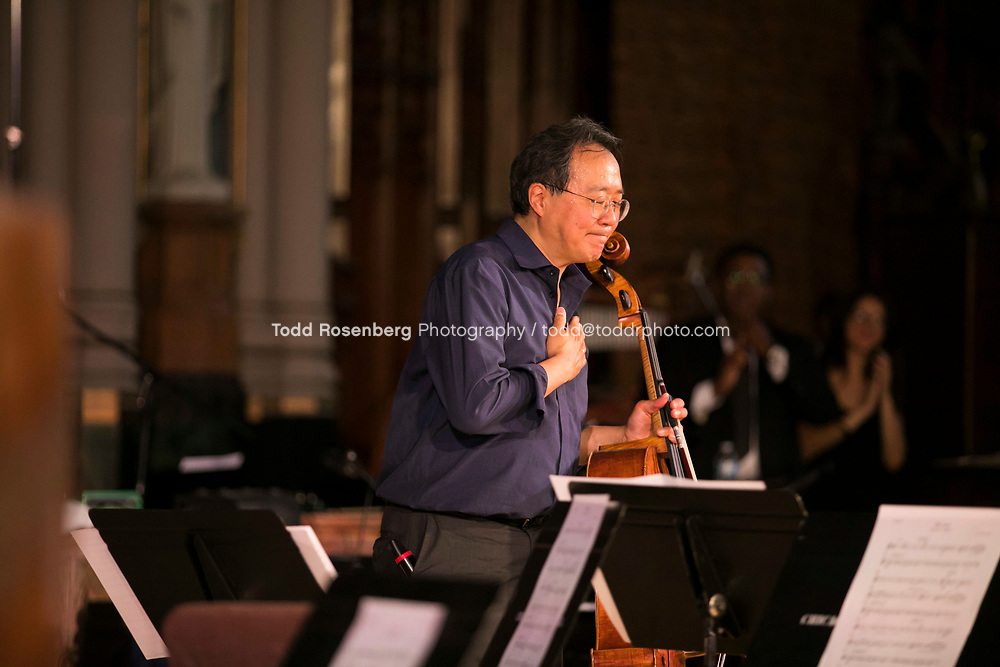 6/11/17 3:59:40 PM --  Chicago, IL<br /> The Negaunee Music Institute at the Chicago Symphony Orchestra <br /> <br /> Yo-Yo Ma Presents a Concert for Peace <br /> Presented in partnership with St. Sabina Church<br /> <br />  &copy;&nbsp;Todd Rosenberg Photography 2017