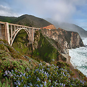 Bixby Bridge - Big Sur, CA -  HDR