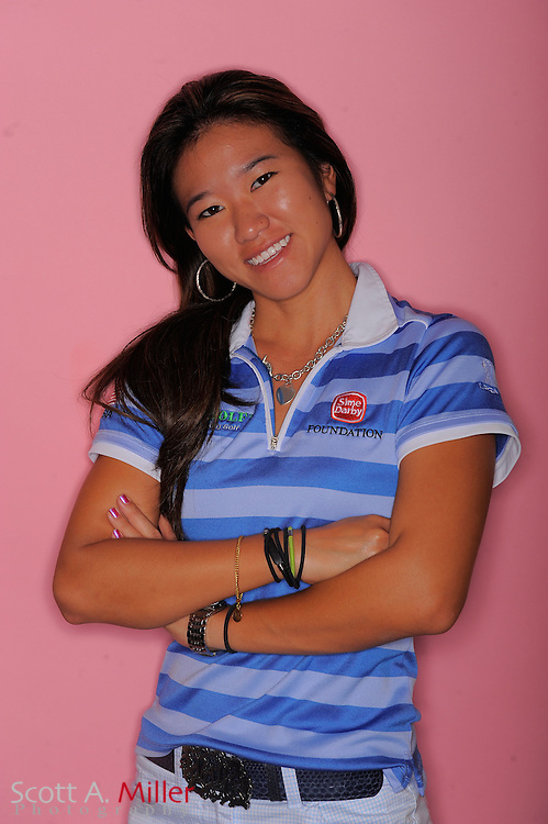 Jean Chua during a portrait session prior to the second stage of LPGA Qualifying School at the Plantation Golf and Country Club on Sept. 24, 2011 in Venice, FL...©2011 Scott A. Miller