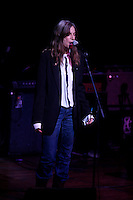 Patti Smith performing at Music For Youth's tribute to Bob Dylan at Avery Fisher Hall in Lincoln Center on November 9, 2006<br /> <br /> &copy;2008 Rahav Segev /Photopass.com<br /> <br /> For additional caption info and licensing please contact the studio at 917 586 6993 or email.