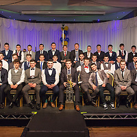 The 2014 Hurling U21 Final winners at the presentation of their medals in the West County Hotel on Saturday 06 Dec