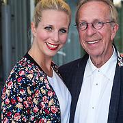 NLD/Amsterdam/20130903 - Inloop premiere Stiletto 2, Alexandra Alphenaar en vader
