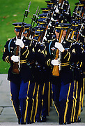 US Marines at Arlington National Cemetery in Washington DC, United States of America
