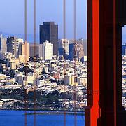 Golden Gate Bridge with Skyline