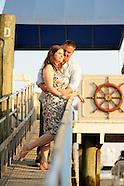 Delmar Sunset Engagement Photos at the Delmar, Greenwich