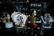 Los Angeles, April 7 2012- Itemson display in a souvenir shop.