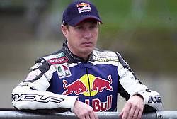 John Reynolds Reve Red Bull Ducati, British Superbike Championship Round 12 Rockingham Raceway 30th September 2001