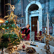 Woodstock November 13 Final touches at  Blenheim Palace  for the festive season. 'Christmas Nostalgia - Toys, Treats and Treasures' opens on  the 14th November until 13th December...***Agreed Fee's Apply To All Image Use***.Marco Secchi /Xianpix. tel +44 (0) 771 7298571. e-mail ms@msecchi.com .www.marcosecchi.com
