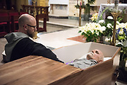 Images from the viewing, funeral and internment of Father Andrew J. Apostoli C.F.R. The funeral Mass was celebrated at St. Casimir's RC Church in Yonkers, NY on December 20, 2017.