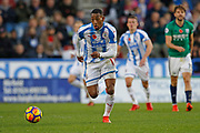 Huddersfield Town's Rajiv van La Parra during the Premier League match between Huddersfield Town and West Bromwich Albion at the John Smiths Stadium, Huddersfield, England on 4 November 2017. Photo by Paul Thompson.