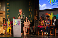 &Aring;sa Regn&eacute;r, Sweden&rsquo;s Minister for Children.<br />