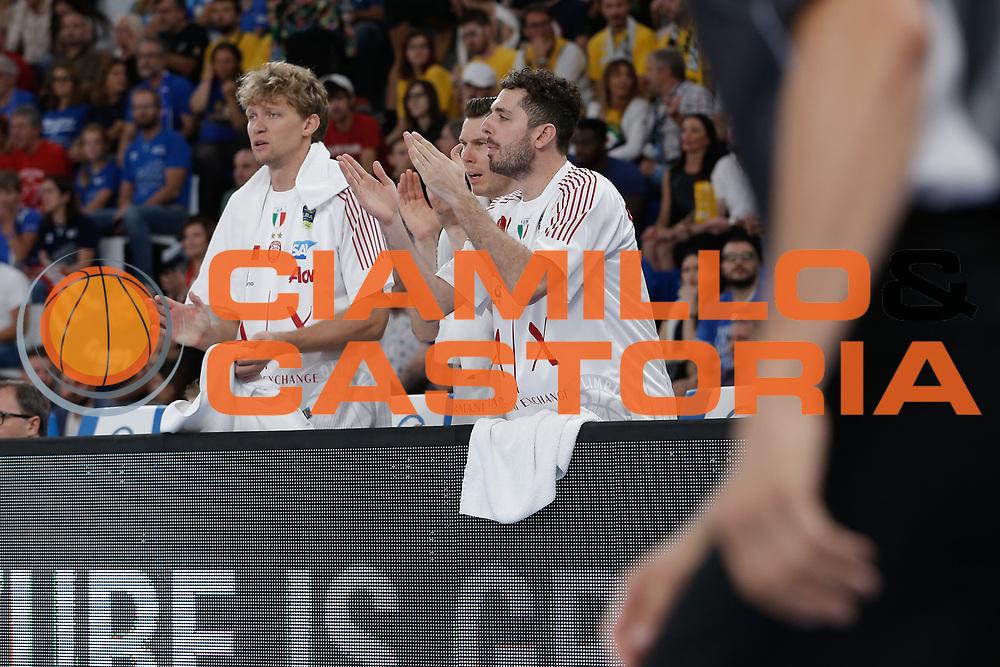Milano<br /> A | X Armani Exchange Milano - Leonessa Germani Brescia<br /> LBA Lega Basket Serie A<br /> Zurich Connect Supercoppa 2018<br /> Brescia, 29/09/2018<br /> Foto MarcoBrondi / Ciamillo-Castoria