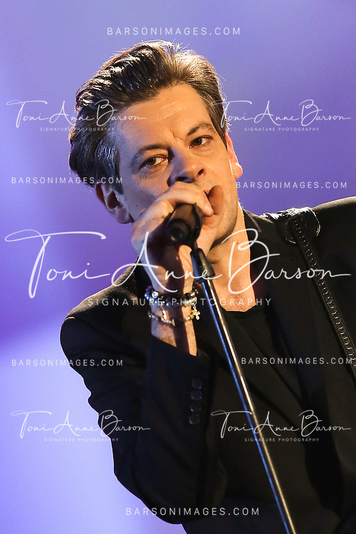 "PARIS, FRANCE - FEBRUARY 10:  Benjamin Biolay performs during the ""32nd Victoires de la Musique 2017"" at Le Zenith on February 10, 2017 in Paris, France.  (Photo by Tony Barson/FilmMagic)"