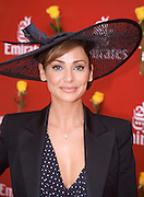 Emirates Melbourne Cup Day,  Melbourne,Australia..Natalie Imbruglia . An instant sale option is available where a price can be agreed on image useage size. Please contact me if this option is preferred.