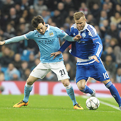 Manchester City v Dynamo Kiev   Champions League   15 March 2016