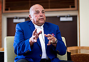 Former UW football Head Coach Barry Alvarez speaks during the Cap Times 2017 Idea Fest, Sunday, September 17, 2017