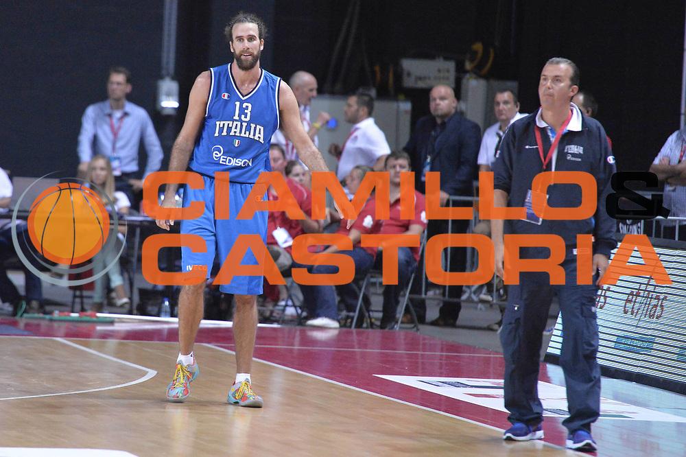 DESCRIZIONE : Anversa European Basketball Tour Antwerp 2013 Belgio Italia Belgium Italy<br /> GIOCATORE : Luigi Datome<br /> CATEGORIA : delusione<br /> SQUADRA : Nazionale Italia Maschile Uomini<br /> EVENTO : European Basketball Tour Antwerp 2013 <br /> GARA : Belgio Italia Belgium Italy<br /> DATA : 17/08/2013<br /> SPORT : Pallacanestro<br /> AUTORE : Agenzia Ciamillo-Castoria/GiulioCiamillo<br /> Galleria : FIP Nazionali 2013<br /> Fotonotizia : Anversa European Basketball Tour Antwerp 2013 Belgio Italia Belgium Italy<br /> Predefinita :