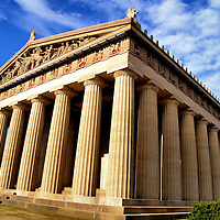 Parthenon Replica in Centennial Park in Nashville, Tennessee<br />