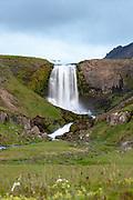 Svodufoss waterfall